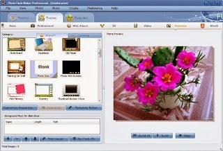 تحميل برنامج عمل وصناعة فيديوهات من الصور download photo slideshow maker