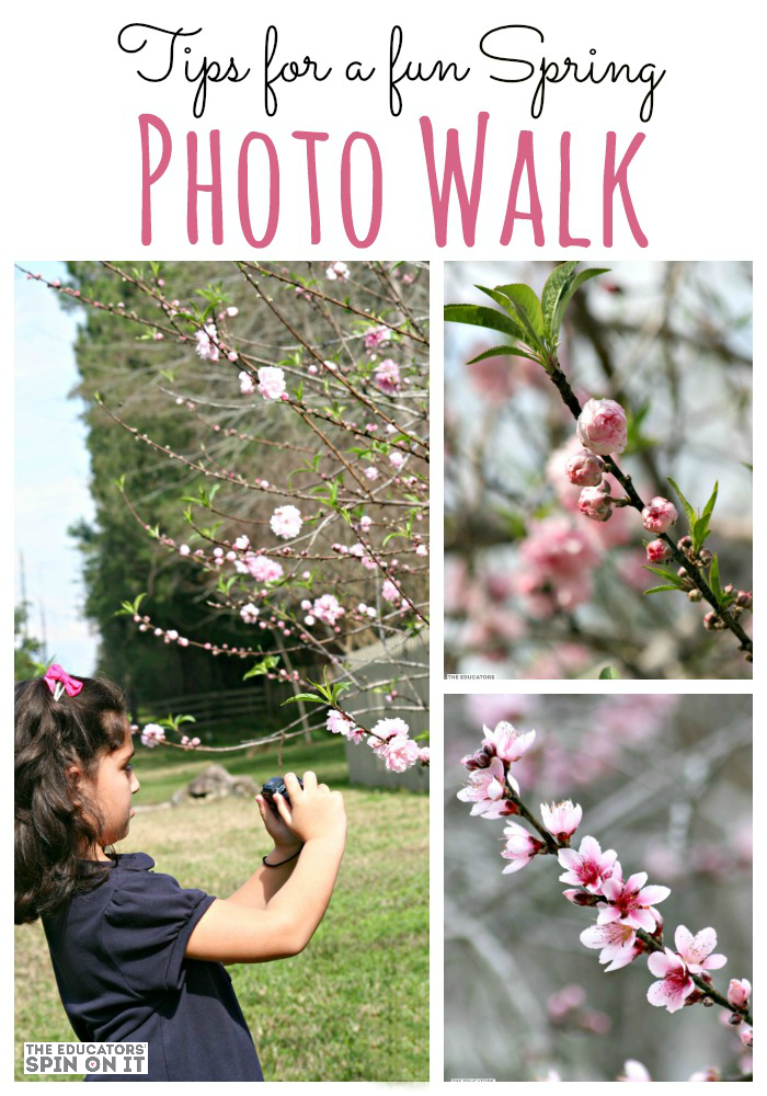 Spring Photo Scavenger Hunt with Kids from The Educators' Spin On It