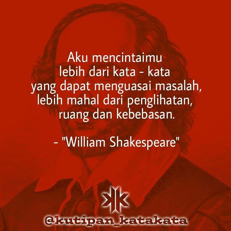 William Shakespeare Quotes Kata Bijak Kata Mutiara Motivasi Peribahasa Kutipan Kata Com