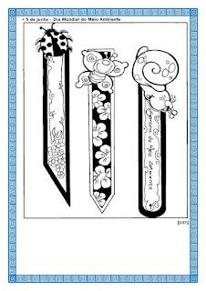 marcador de pagina para imprimir