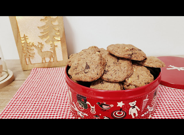 cookies-de-chocolate-naranja-y-nueces