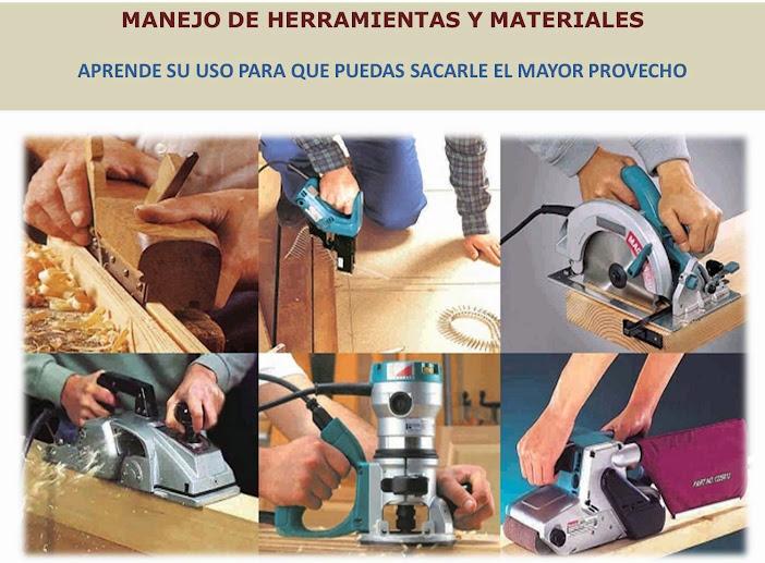 """""""herramientas trabajar la madera"""""""