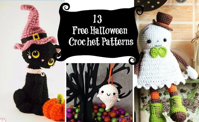 Little Treasures: 13 Free Halloween Crochet Patterns
