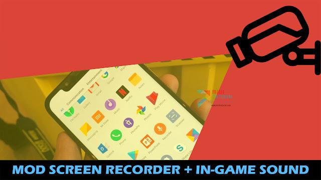Mod Screen Recorder Bisa Rekam Suara In-Game di Xiaomi POCO F1 Inikah yang Kamu Cari