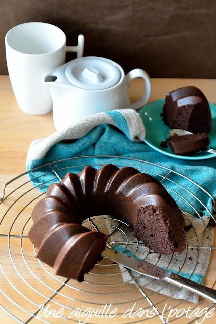 Moelleux au cacao, pois cassés et fève tonka (sans gluten)