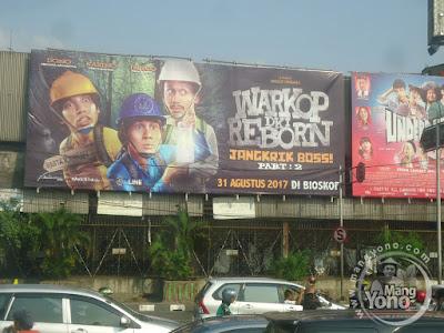 FOTO 1 : Warkop DKI Reborn:  Jangkrik Boss! Part 2 di bioskop Agung Theater.