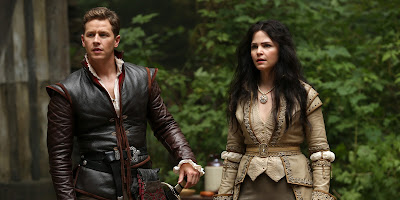 Príncipe David (Josh Dallas) y Blancanieves (Ginnifer Goodwin)
