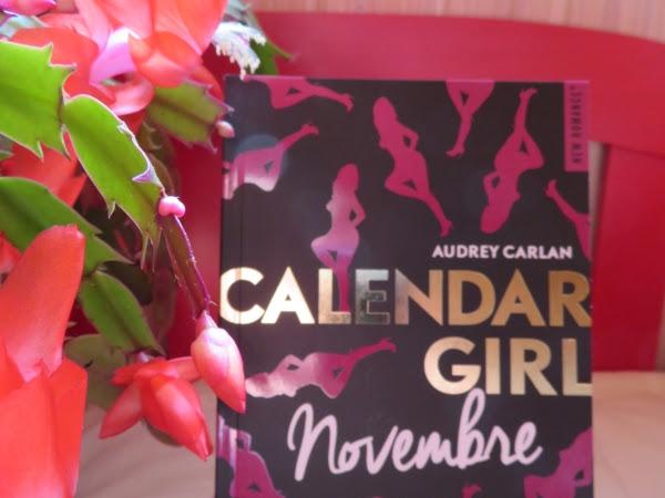 Calendar girl, tome 11 : Novembre de Audrey Carlan
