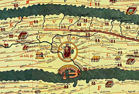 Cartina Tematica Spagna.Cartografia Romana Romanoimpero Com