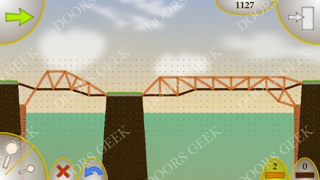 Wood Bridges Free Level 6 Solution (Small Island)
