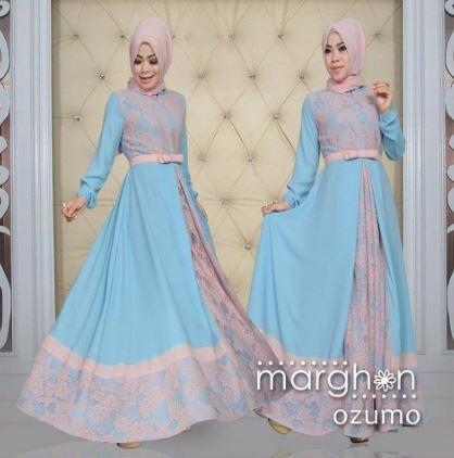 30+ Model Baju Muslim Brokat Terbaru 2018: Desain Cantik