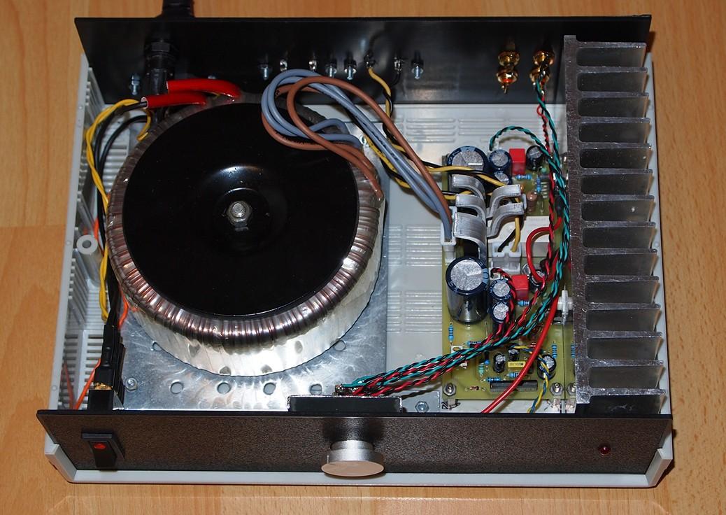 DIYfan: Power Amplifier with TDA2050