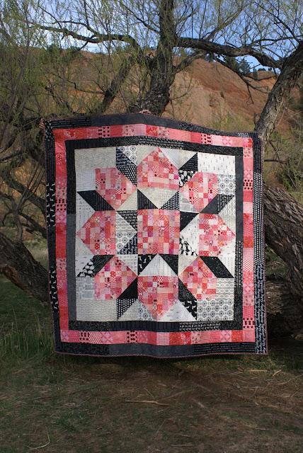 Peachy Keen Patchwork Swoon