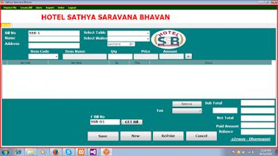 Source Code Aplikasi Kasir Restoran Full VB .Net