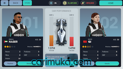 Download Motorsport Manager Mobile 3 Mod v1.0.2 Apk