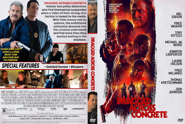 Dragged Across Concrete DVD Cover
