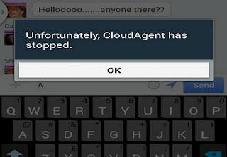 """Menangani Error pada handset Samsung """"Unfortunately CloudAgent has stopped"""", ini solusinya"""