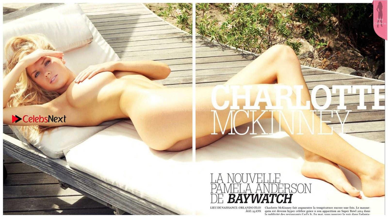 Charlotte McKinney goes Sexy Nude for Summum Magazine April 2017 Amazing Meaty Body