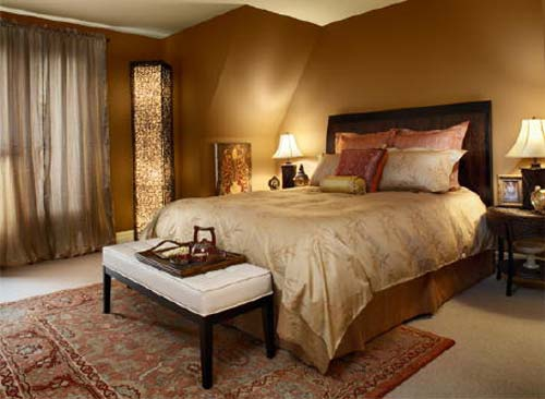 Ladera Ranch Tuscan Bedroom design