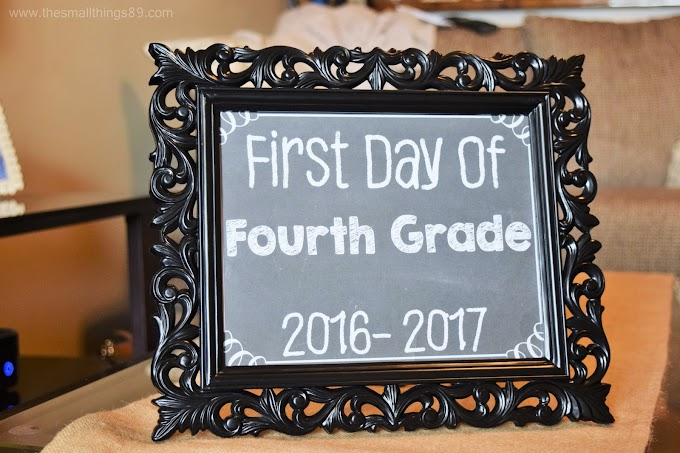 {Free} First And Last Day Of School 2018-2019 Printables