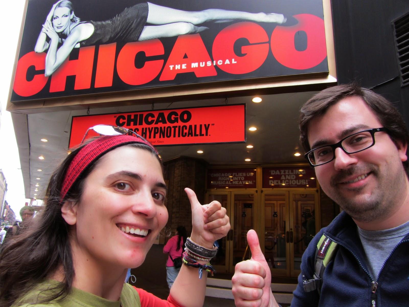 Ver um MUSICAL NA BROADWAY - Chicago, um musical da Broadway | EUA
