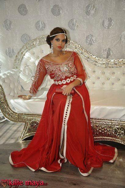 Caftan de mariage 2016 robes haute couture sur mesure for Kleinfeld mariage robes vente