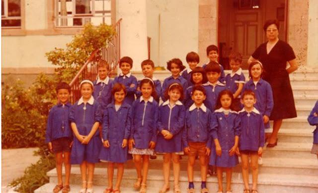 Ήταν 07/02 του 1982 όταν πήγαμε στο σχολείο για πρώτη φορά χωρίς την μπλε ποδιά!