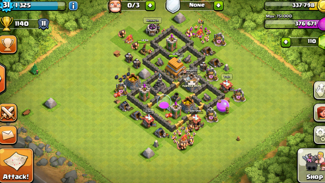 Theeyez clash of clans good trophy base designs for clash of clans