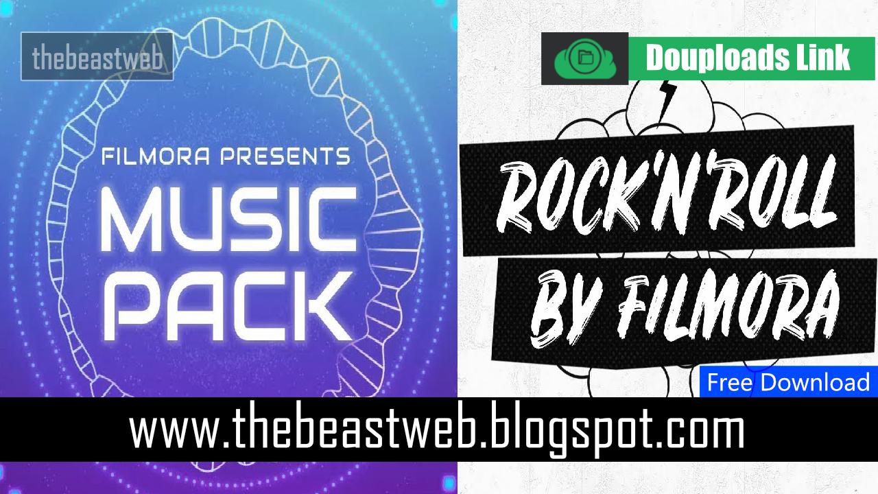 wondershare filmora music pack download