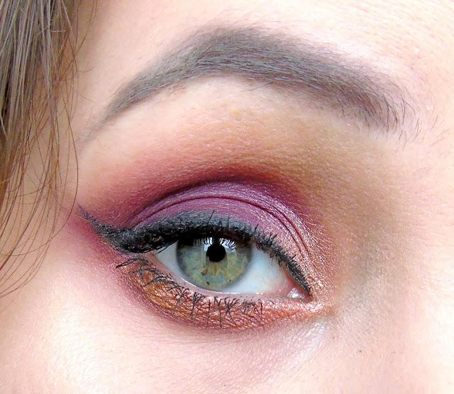 Makijaż w barwach jesieni :)
