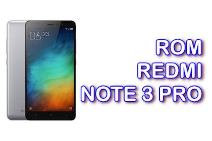 ROM Xiaomi Redmi Note 3