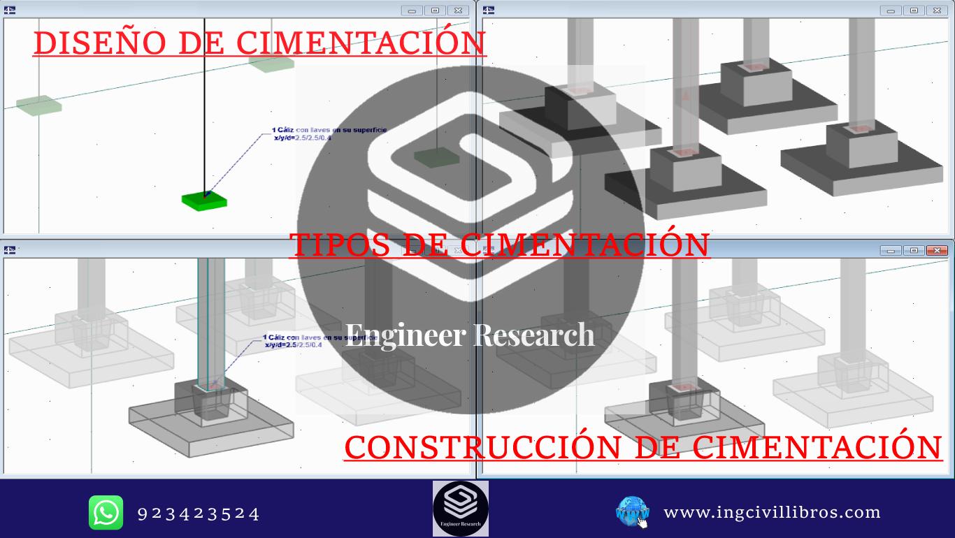 tipo, construcción y diseño de cimentaciones