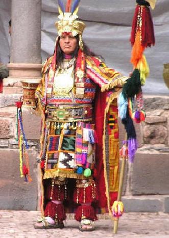 Yb Image Binca Btupac Bcauri on Pachacuti Inca