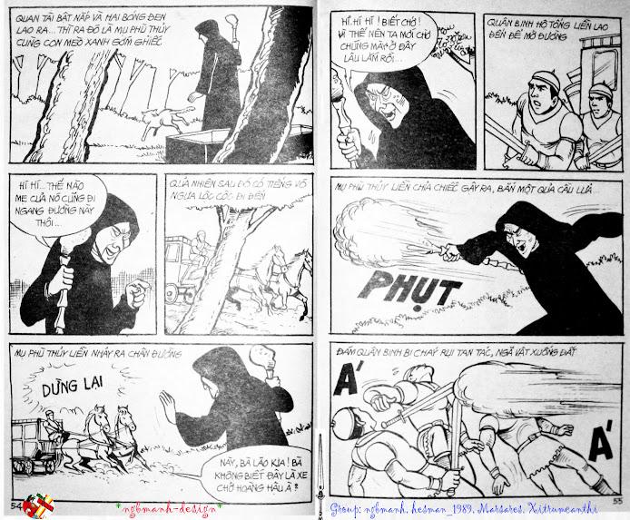 Dũng Sĩ Hesman tập 3 - mãng xà giả dạng trang 29