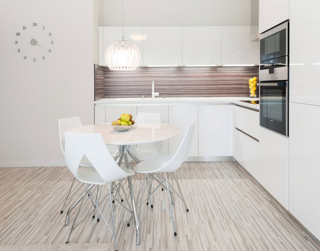 Dapur  Minimalis  Warna  Putih Majalah Rumah