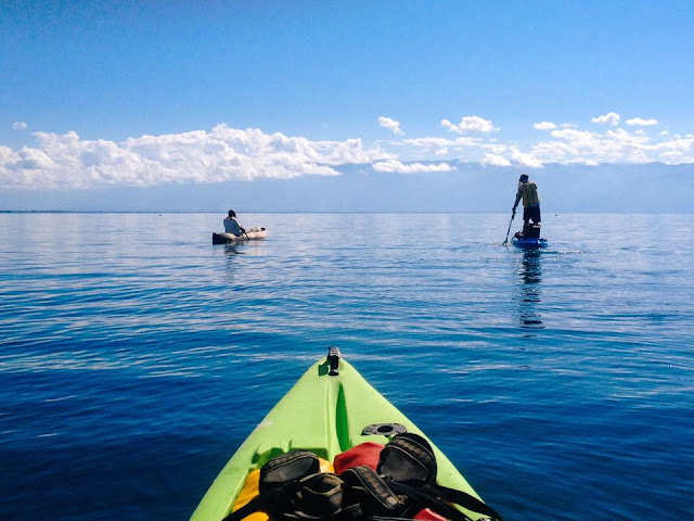 Openwater with Legend Kayaks