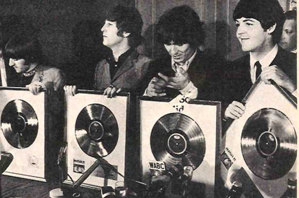 Meet the Beatles for Real Another gold record for Mimis wall