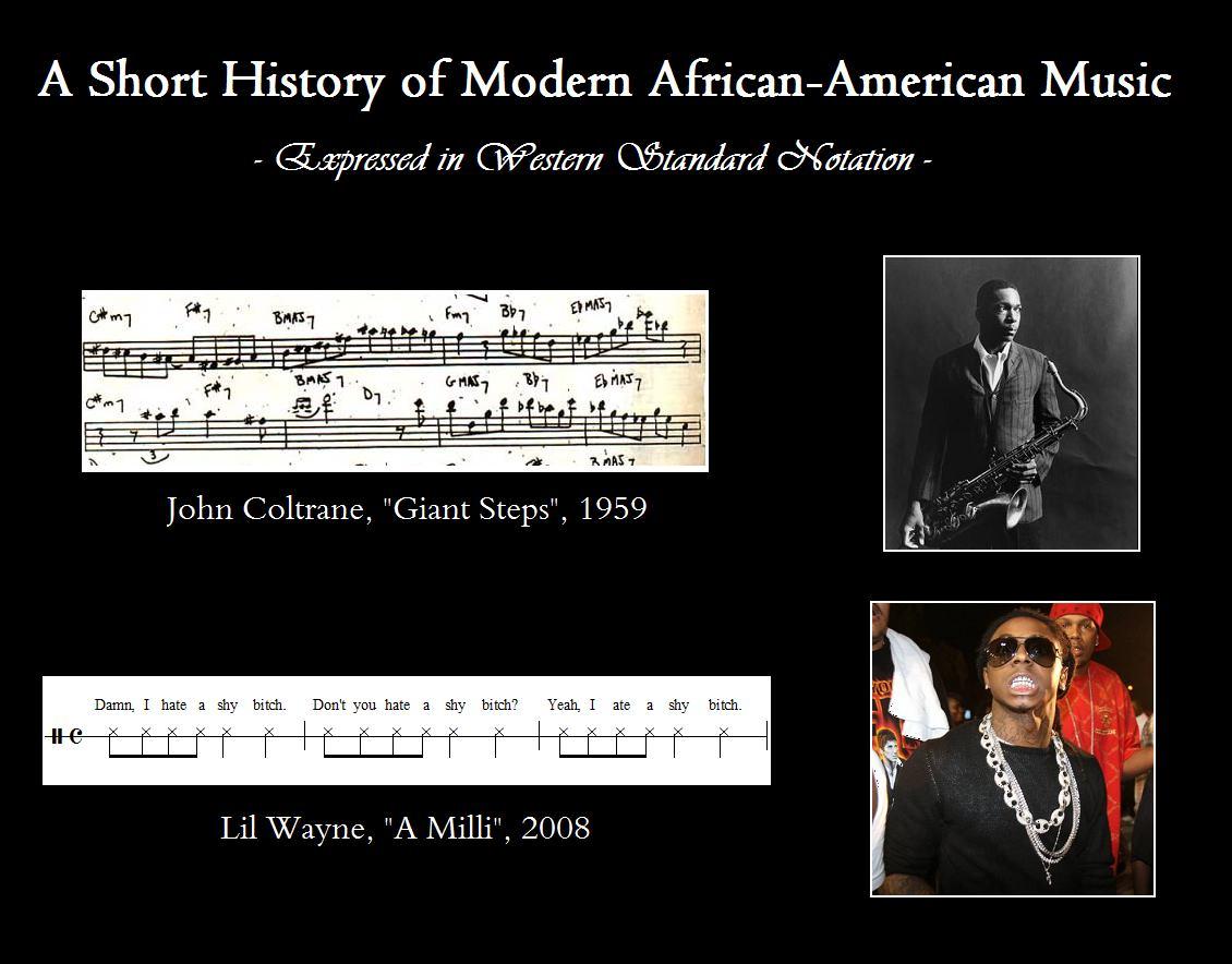 short history african american music