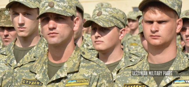 Студенти військових кафедр ВНЗ