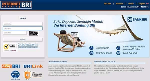 Cara Daftar SMS Banking dan Internet Banking BRI Melalui Mesin ATM