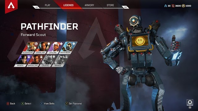 Apex Legends Tips & Tricks Play with the Pathfinder Legend