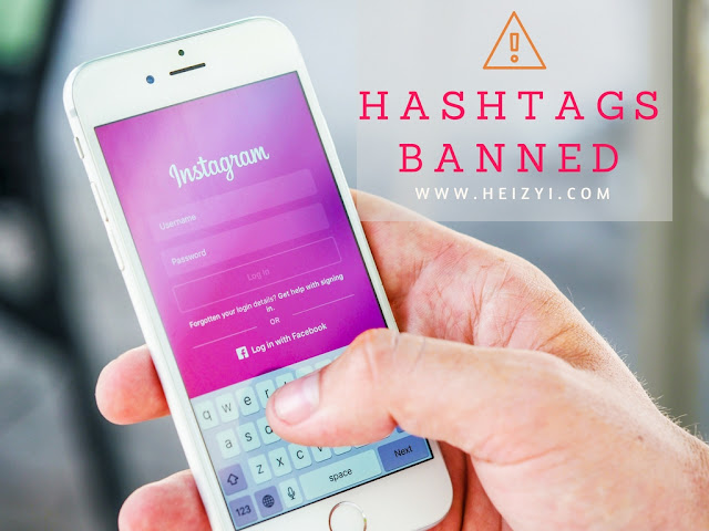 Daftar Hashtags Terlarang oleh Instagram Tahun 2018