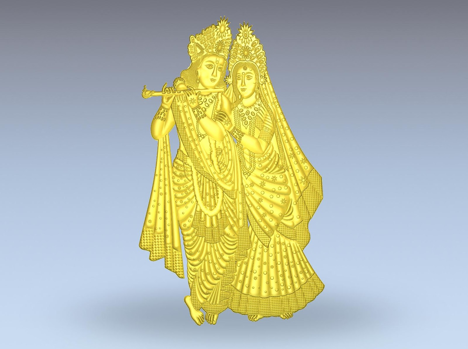 Artcam Designs Indian Gods CNC   ArtCam