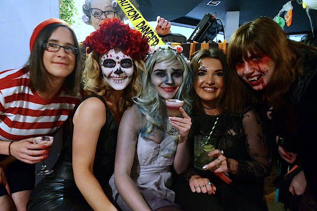 Aberdeen Bloggers Halloween Event Costumes