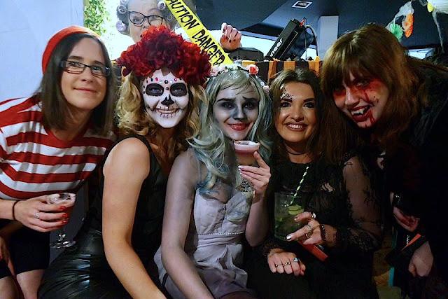 Aberdeen Bloggers Halloween Event Costumes