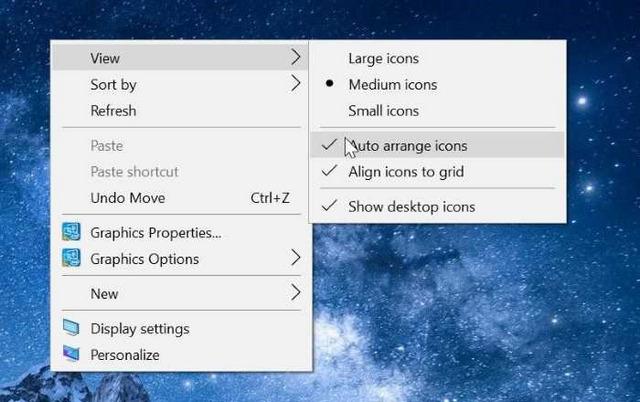 إصلاح مشكلة أيقونات سطح المكتب مفقودة في نظام التشغيل Windows 10