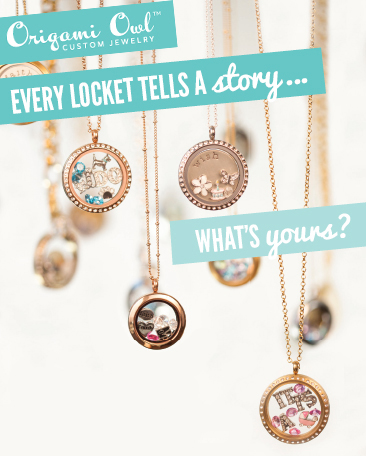 Shop Origami Owl Living Lockets at StoriedCharms.com