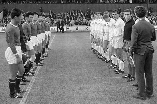 Bắc Triều Tiên hạ gục Italy ở World Cup 1966.
