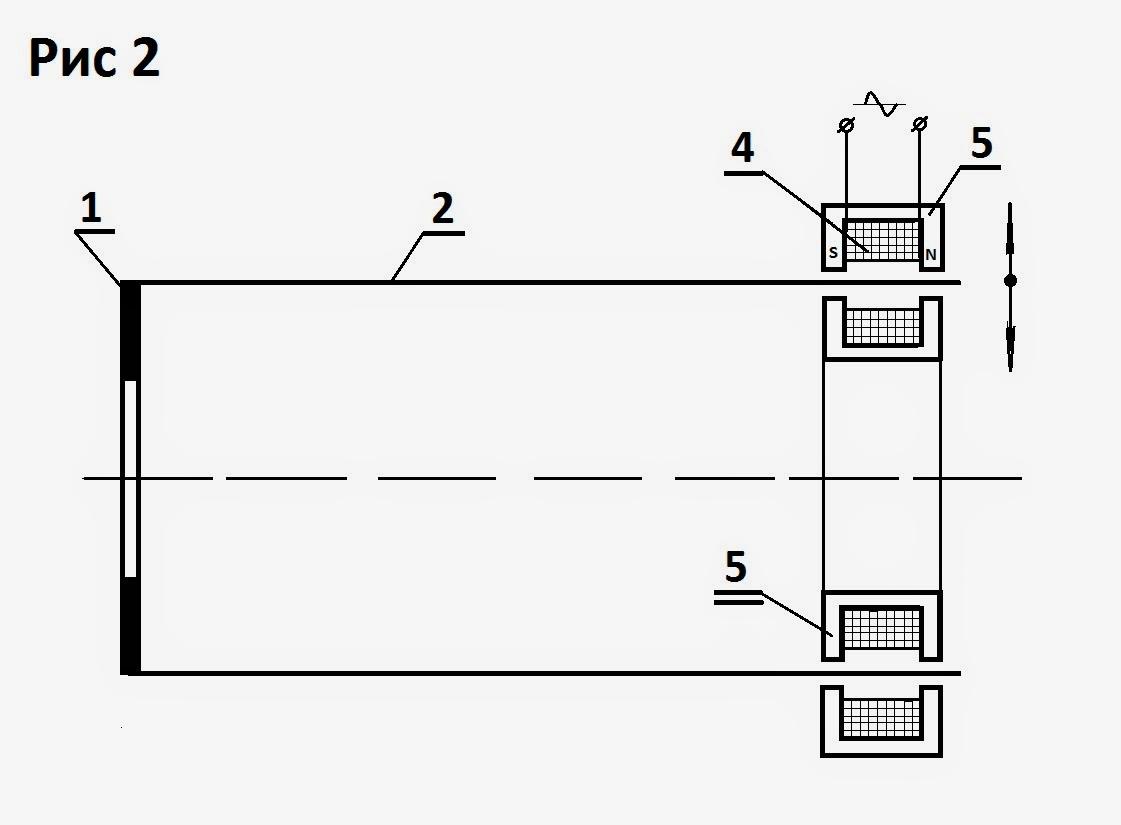 электрическая схема 12 вольтового магнита