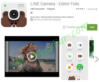 Aplikasi Selfie Camera Selfie untuk HP Android